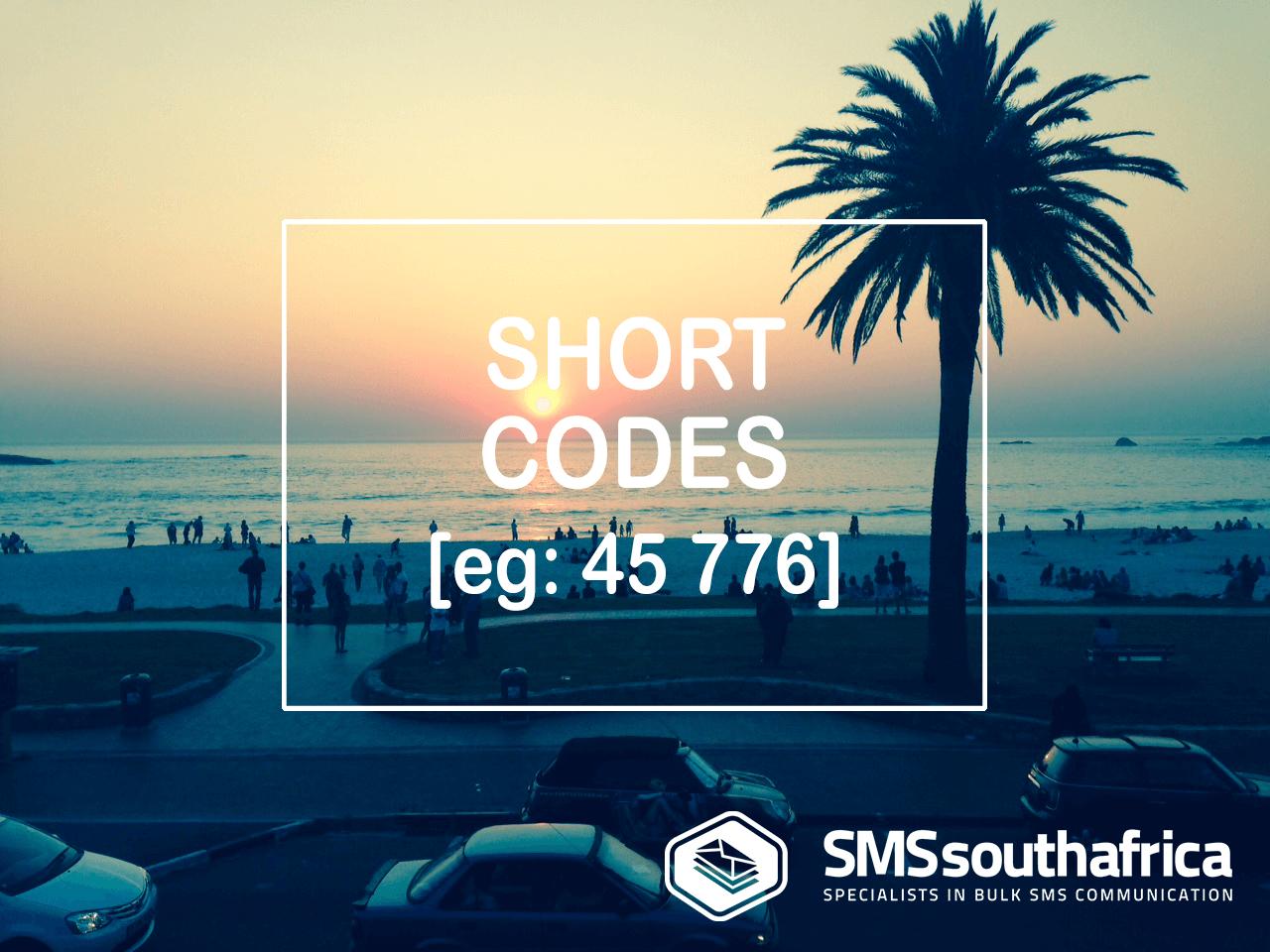 5 Digit SMS ShortCodes SA ZA
